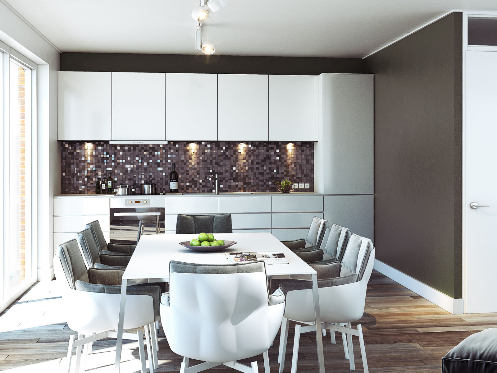 interieur impressie keuken DWanimations