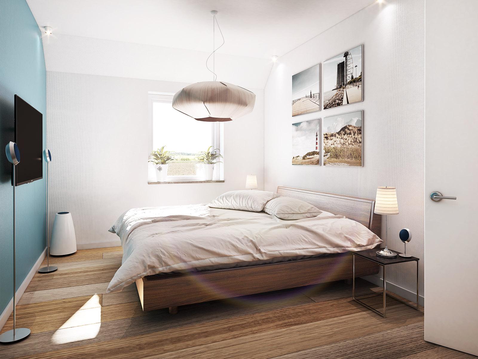 slaapkamer interieur visualisatie DWanimations