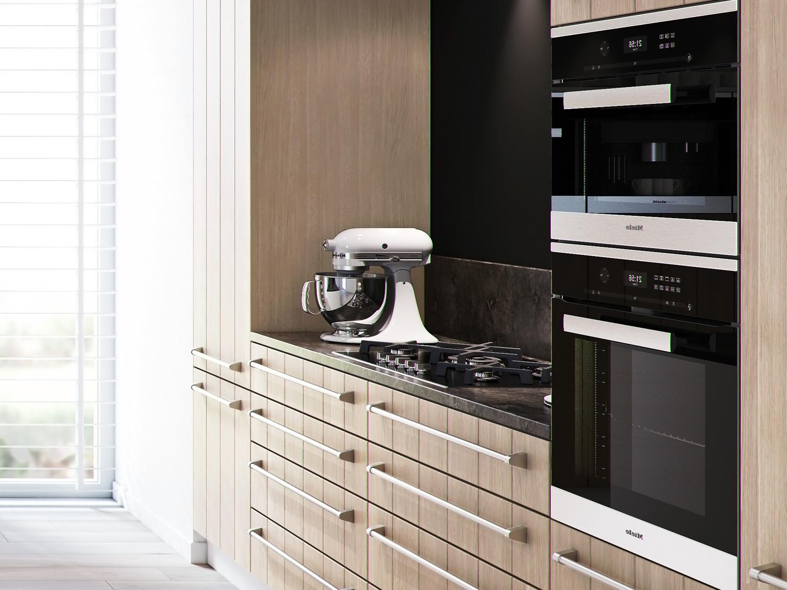 interactief keuken opties aanclicken