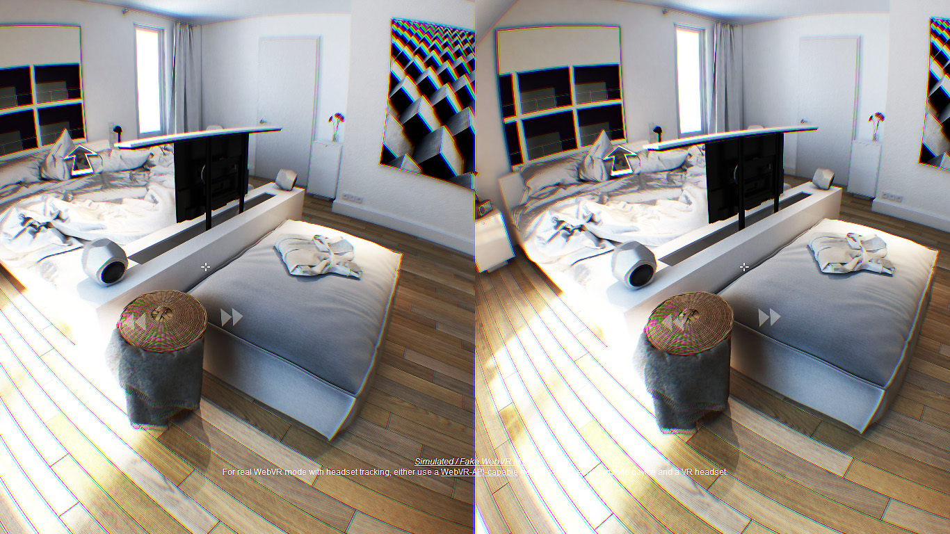 virtual reality DWanimations slaapkamer