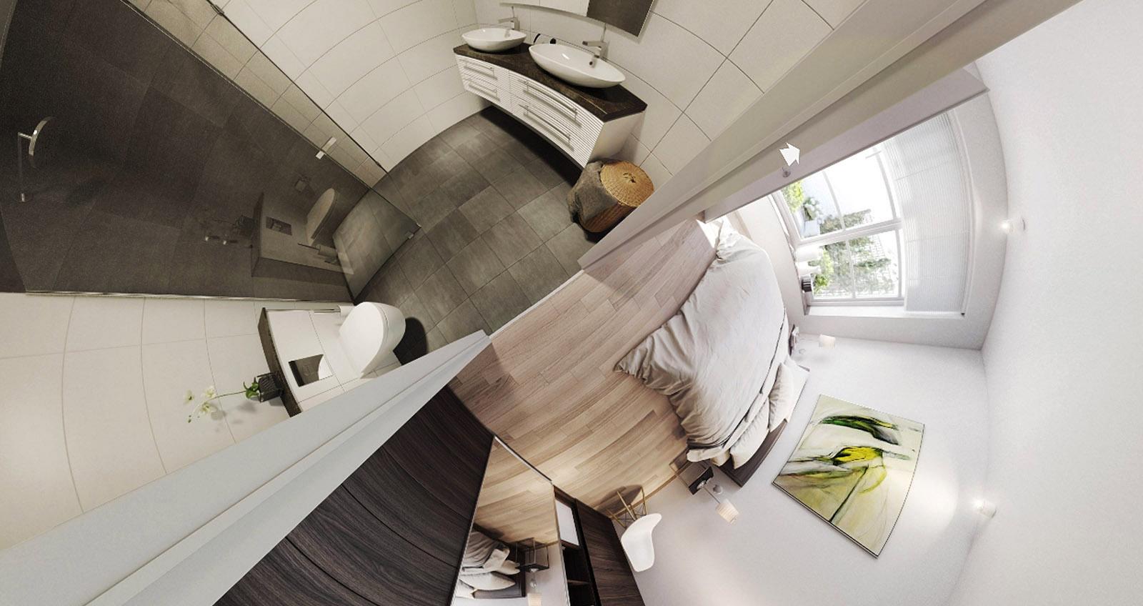 virtual reality DWanimations slaapkamer