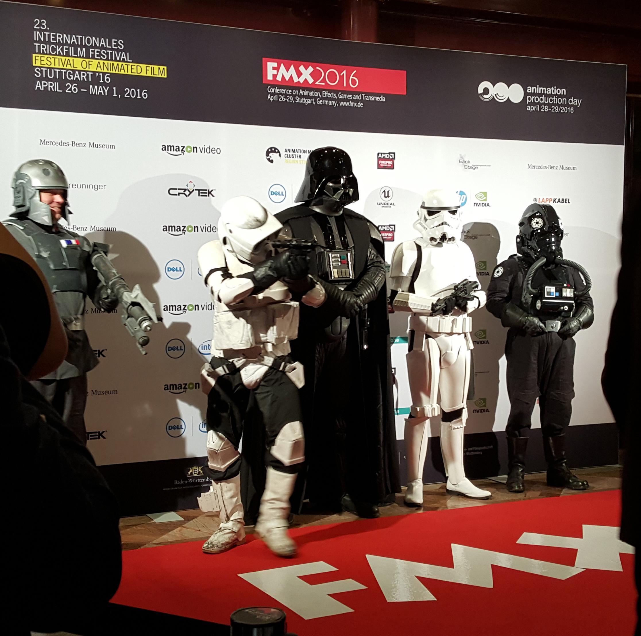 FMX Star Wars DWanimations bezoek FMX