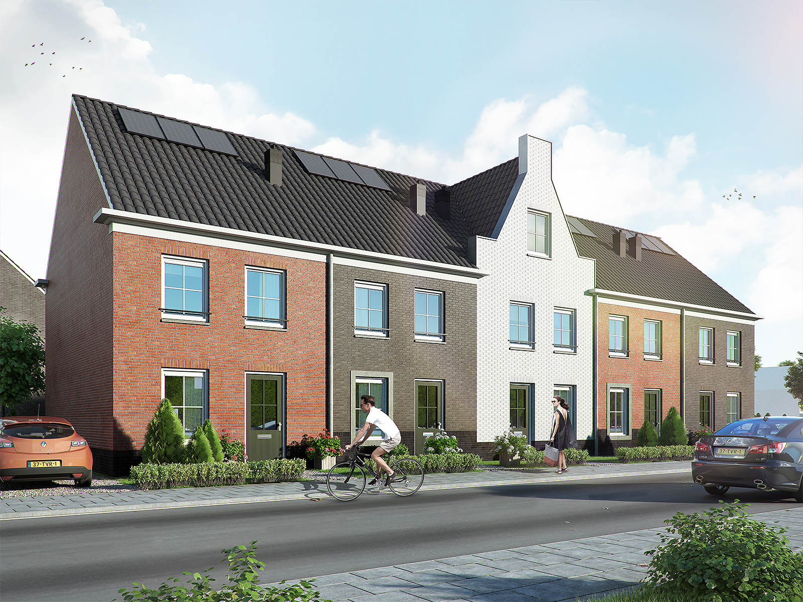 Exterieur beelden /DWanimations / Hollands wonen