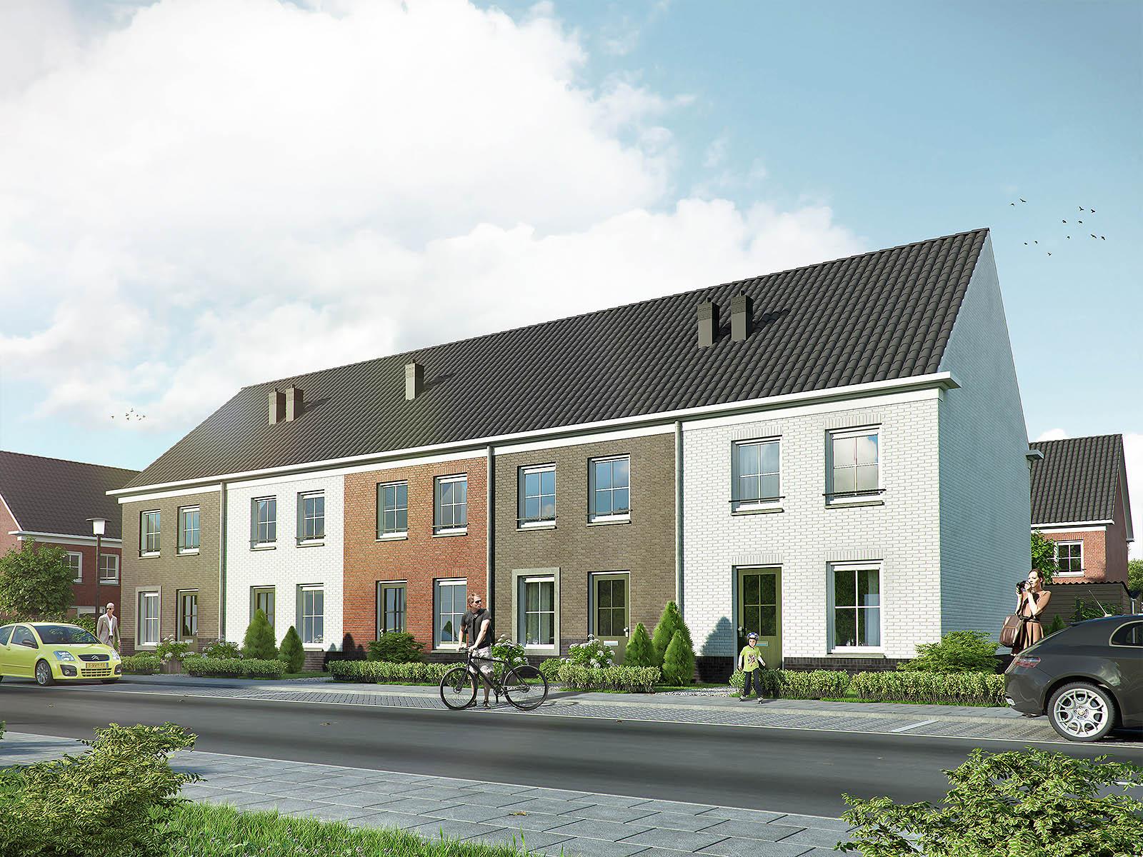 exterieur visualisatie DWanimations Hollands wonen