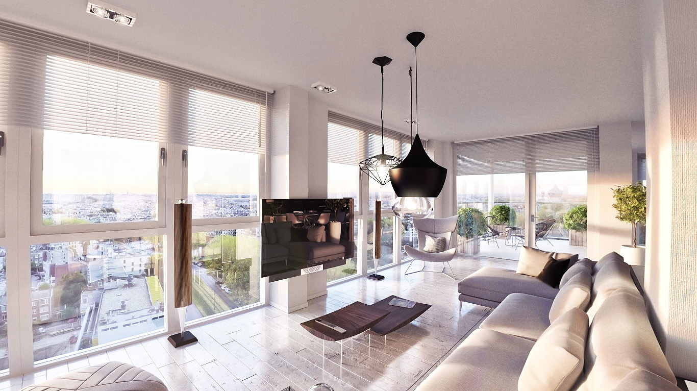 Penthouse design DWanimations