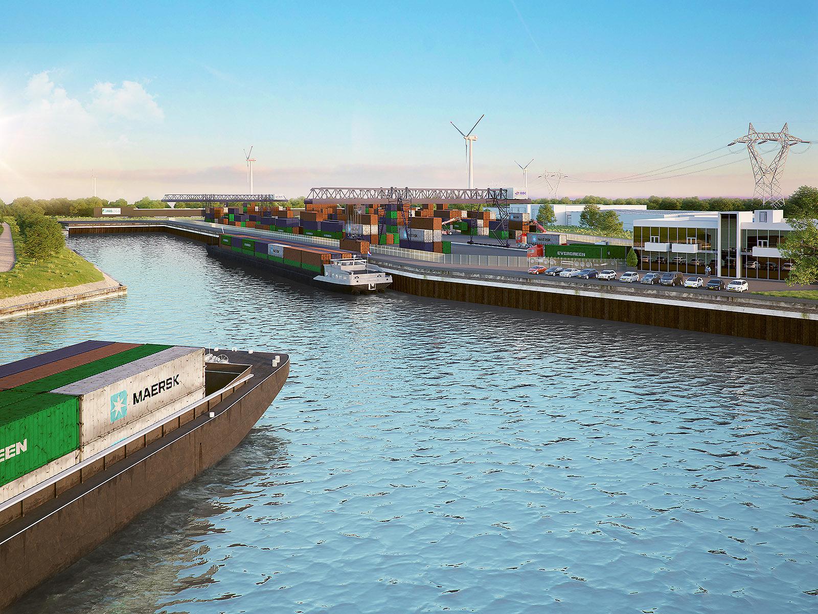 Containerhaven Waalwijk/ DWanimations / Commercieel vastgoed