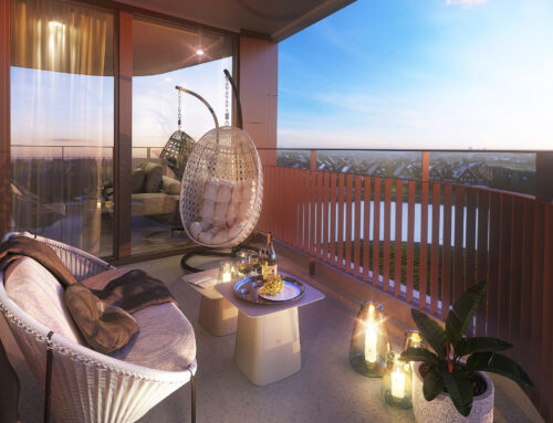 Balkon sfeer